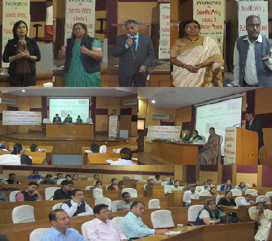 Workshop on Scientific writing, e-Books and Publication Process