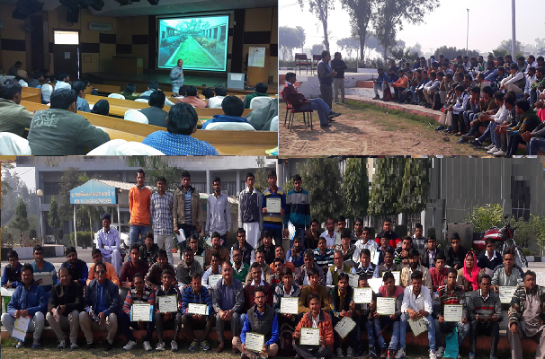 """ICAR-CIRB organized training on """"improved buffalo husbandry practices"""" from 17th- 23rd December, 2016"""