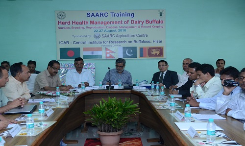 The SAARC training at ICAR-CIRB, HISAR concludes