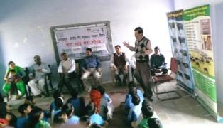 Activities under MGMG in village Gwalisar