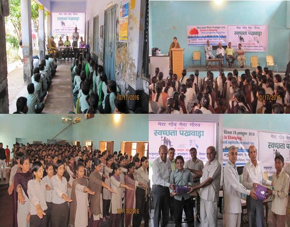 ICAR-CIRB organized World Food Day and Swachhta Campaign in village Sarsod and Karkhadi