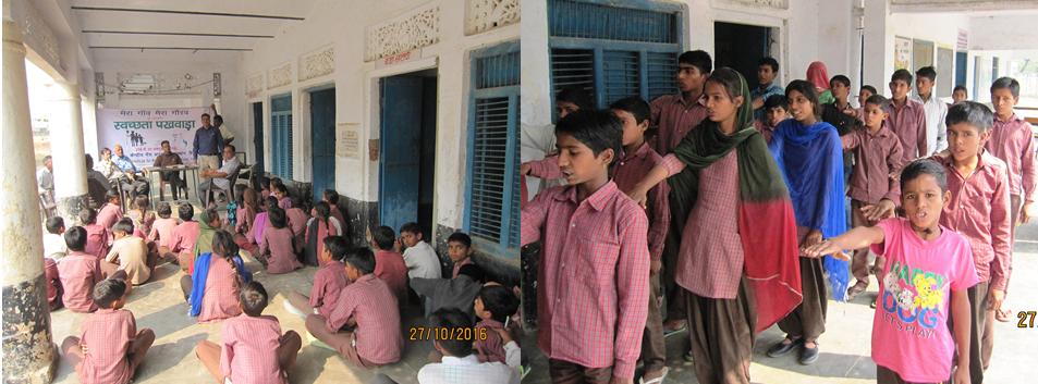 Swachhta Campaign at village Basra