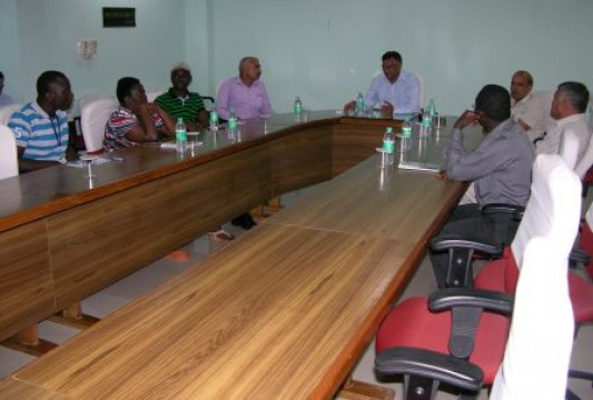 Visit of Army Officers and Foreign Delegates