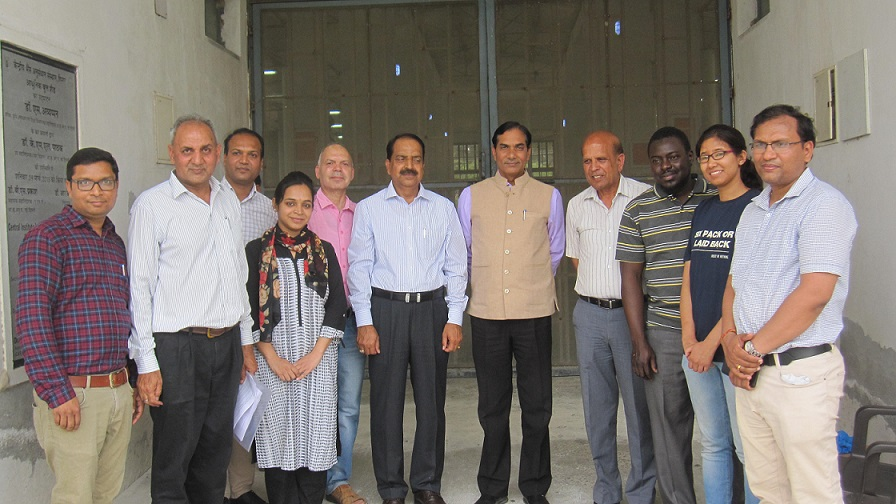 DG, ICAR visits the ICAR-Central Institute for Research on Buffaloes, Hisar