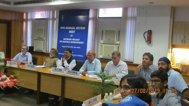 17th Annual Review Meet of Network Project on Buffalo Improvement, 27-28 August 2019.