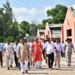Visit of Hon'ble Minister of Fisheries, Animal Husbandry & Dairying